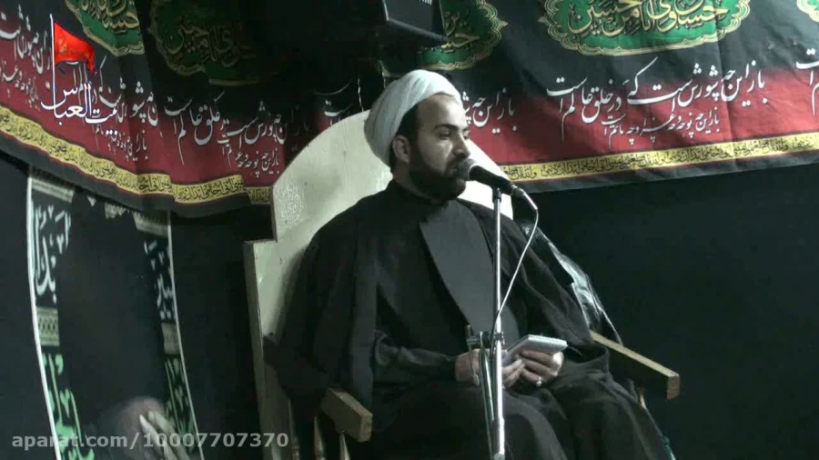 سخنرانی  دهه اول محرم(شب پنجم)1394/7/26دربیت العباس