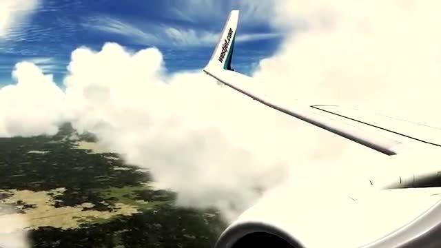 اوج کیفیت گرافیکی شبیه ساز الماس، فرود بوئینگ 737