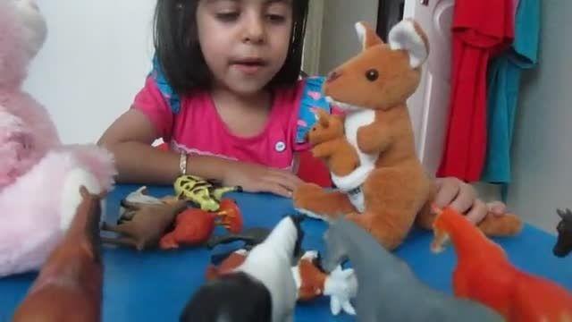 مهرسا کودک 5 ساله ی دوزبانه ی ما
