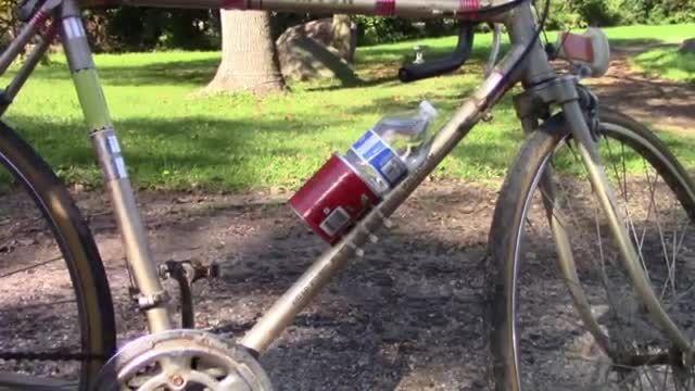 ساخت یک جا قمقمه ی ساده،برای دوچرخه!