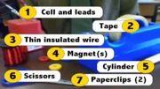 موتور الکتریکی ساده چگونه کار میکند؟