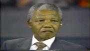 سخنرانی نلسون ماندلا درباره فلسطین