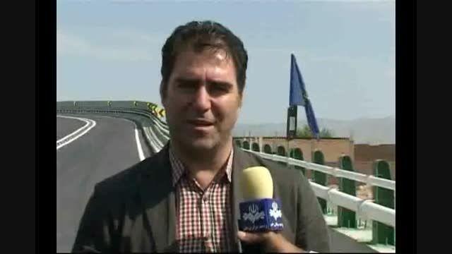 افتتاح پل جاده دهبید