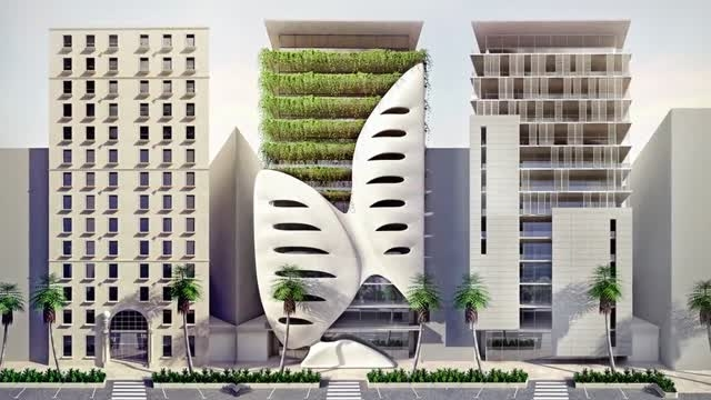 Creating Five Architecture Facades in 3ds Max and V-Ray