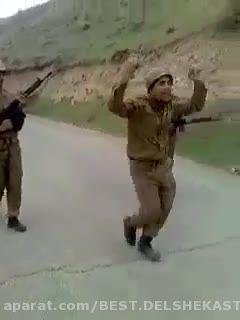 رقص خنده دار سرباز..آخر خنده