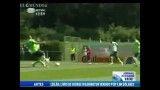 درگیری بازیکنان پرتغال موقع تمرین کردن