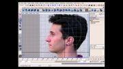 آموزش مدلسازی و ساخت سر -4 - gnomon Head modeling