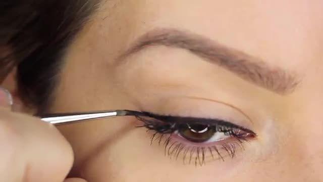 آموزش 6 روش کشیدن خط چشم