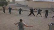 آموزش سربازان افغان توسط نظامیان آمریکایی