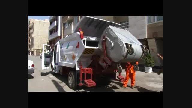 پک حمل زباله مکانیزه از بارگیری تا تخلیه زباله