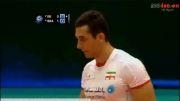 کلیپ سعید معروف بهترین پاسور لیگ جهانی والیبال