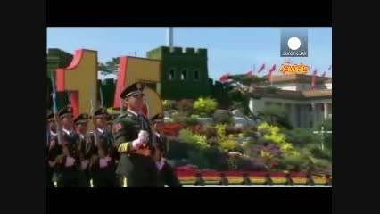 رژه بی سابقه ارتش چین در سالگرد شکست ژاپن