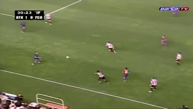 هایلایت کامل بازی لیونل مسی مقابل اتلتیکو بیلبائو(2009)