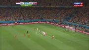 خلاصه بازی هلند 0(4) - (3)0 کاستاریکا
