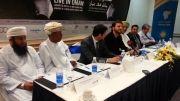 سامی یوسف.اجرای ترانه حسبی ربی در نشست خبری در عمان