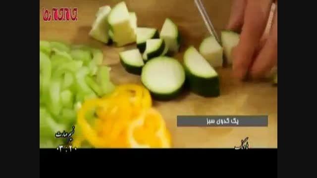 پای مرغ آموزش آشپزی فیلم گلچین صفاسا