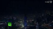 آتیش بازی سال جدید در برج خلیفه دبی