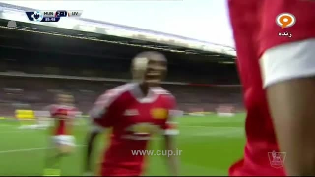گل مارشال ؛منچستر یونایتد(3)-لیورپول(1)لیگ برتر انگلیس