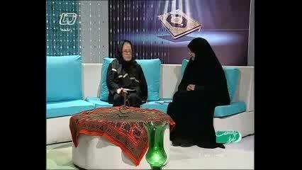 خانم دهقان مسئول موسسه خیریه آشیانه علی(ع) شبکه 5 کرمان