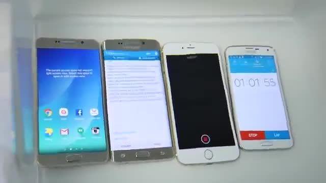 تست ضد آب ؛ Note 5 VS S6 Edge Plus VS iPhone 6 Plus