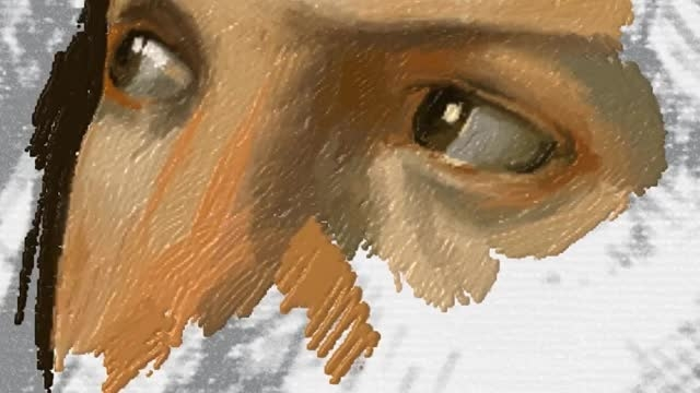 قلم سرفیس و بازسازی اثر هنری