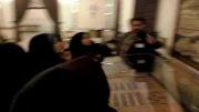 بازدید دانش آموزان از موزه قرآن حرم مطهر