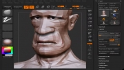 آموزش مدلسازی سر -4-head zbrush modeling