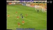 گل دوم استقلال به برق شیراز (آقا محمدی)