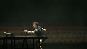 قهرمان تنیس روی میز جهان در برابر بازوی رباتیک
