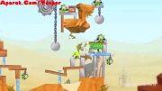گیم پلی بازی پرندگان خشمگین جنگ ستارگان 2