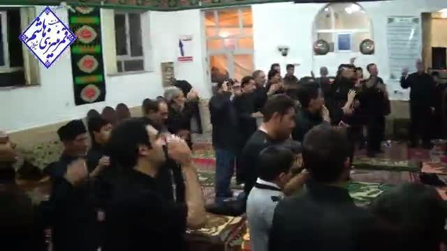 سینه زنی در سوم محرم 94 با مداحی حاج حسن اسدی
