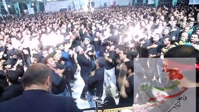مراسم عزاداری روزعاشورا روستای حداده دامغان1394