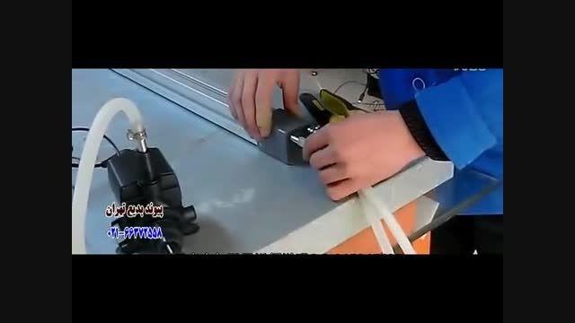 آموزش خم کردن طلق و پلکسی و اکریلیک با دستگاه