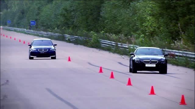 مسابقه BMW M5 vs BMW M6