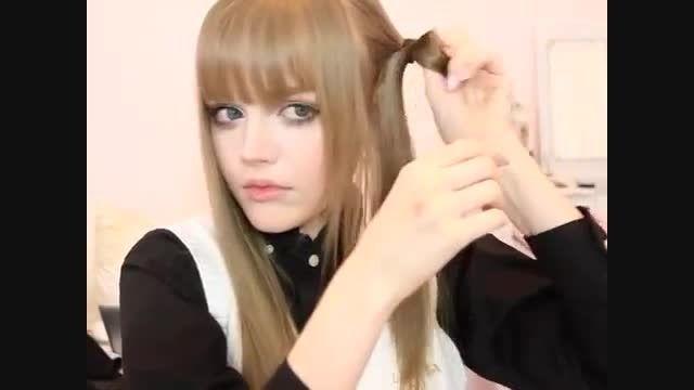 یه مدل موی خیلی ساده