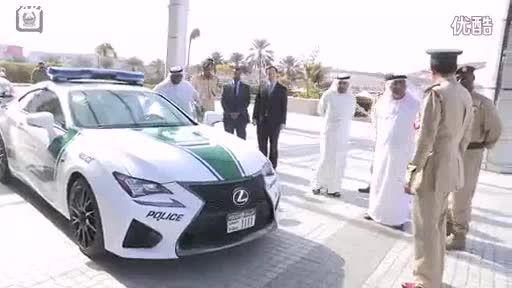 ناوگان جدید پلیس دبی.لکسوس RC F
