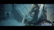 ترسناک . بلعیدن موجود فضایی توسط موجود فضایی در Prometheus