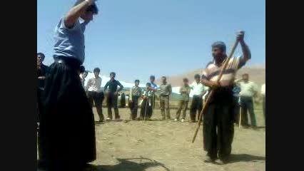 چوبازی آرش منصوری در بیرگان