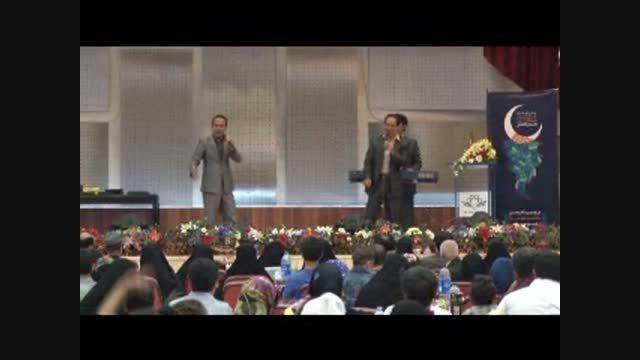 طنز خنده دار و شوخی های باحال بهمن هاشمی و حسن ریوندی