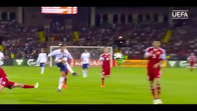 10 گل برتر مرحله مقدماتی یورو 2016