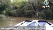 وقتی قایق بادی درگیر موج قایق دیگر می شود.