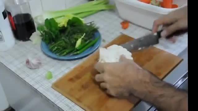 آموزش درست کردن شور ترشی - How To Make shour