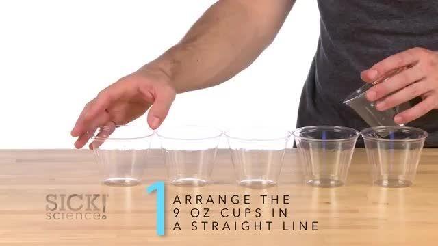 ازمایشی با پلیمر جذب کننده آب