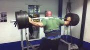 340 کیلو اسکات 3 تکرار توسط شهلایی