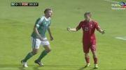 پرتغال - ایرلند ... هتریک رونالدو