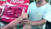 تبلیغ زیبای کوکاکولا و انجمن حفظ محیط زیست