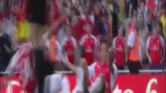 خلاصه بازی آرسنال 3 - 0 منچستر یونایتد