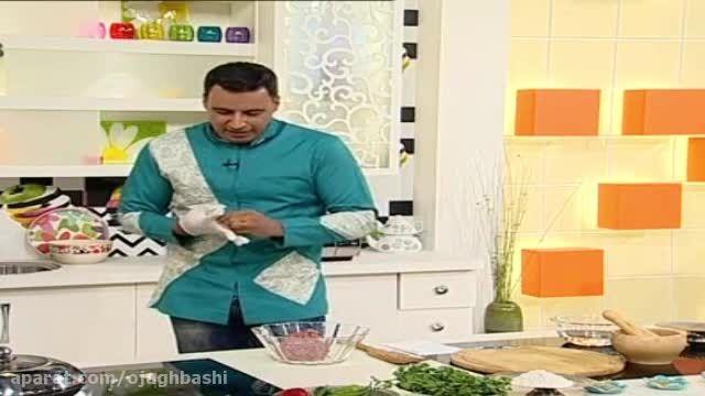 آموزش پخت کباب تابه ای به شیوه متفاوت