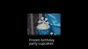 ایده هایی از تزئین غذای تم فروزن - جشن تولد تم دار