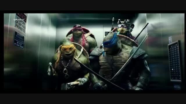آهنگ خوندن لاکپشت های نینجا 2014-دوبله گروه آواژه